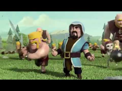 Clash of clan magic  attack  commercial video In INGLISH