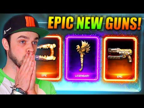 EPIC NEW GUNS! - (Black Ops 3 SUPPLY DROPS) w/ Ali-A LIVE!
