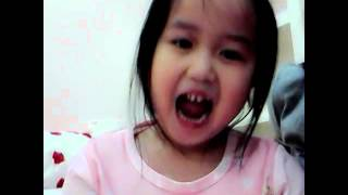 Child singing : Linzie singing bluebird Naruto