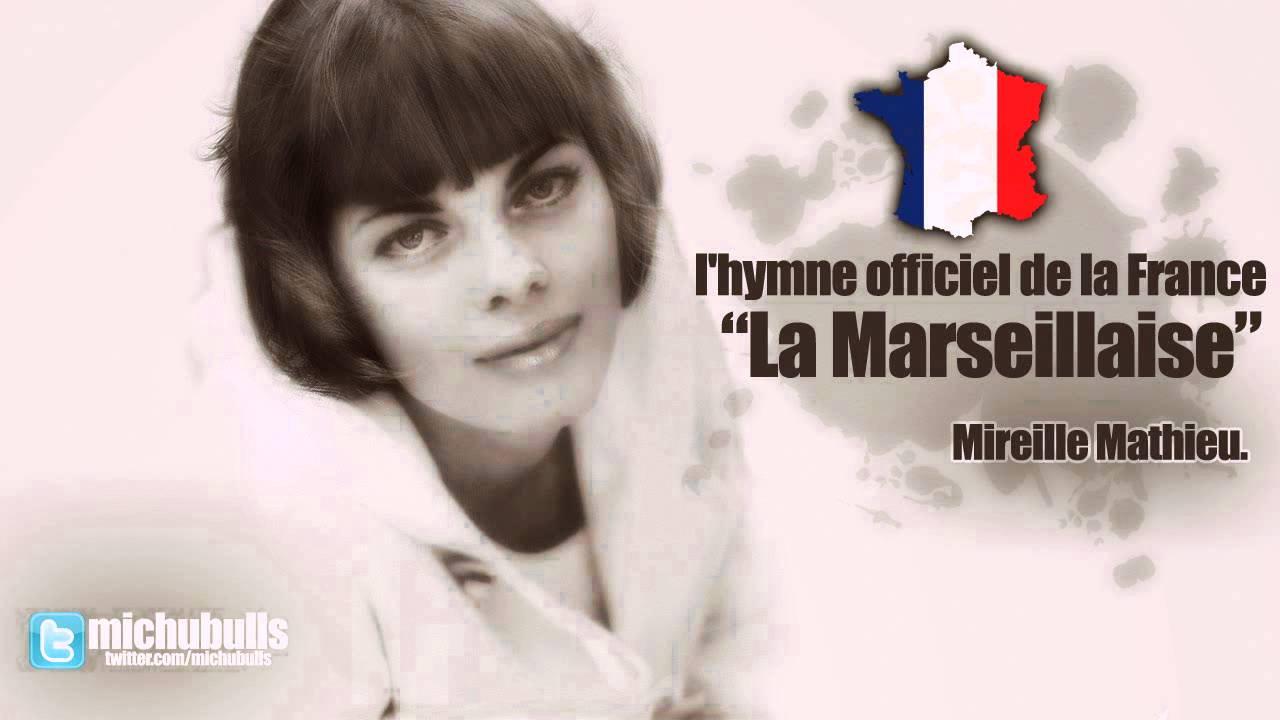 Mireille mathieu la marseillaise france national anthem for Audiovisuel exterieur de la france