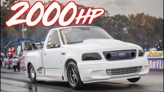 """2000HP Ford Lightning The Fastest Truck We've Seen! - """"The Yetti"""""""