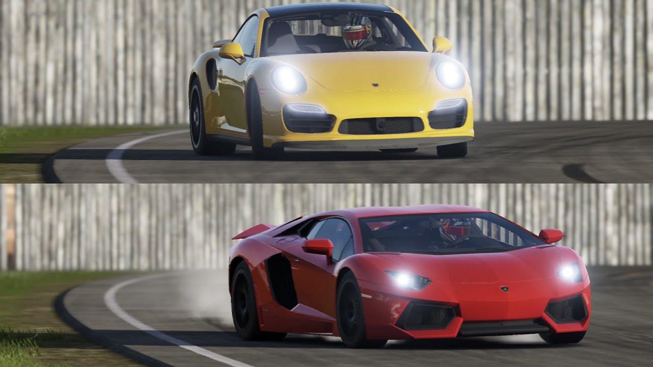 Lamborghini vs porsche
