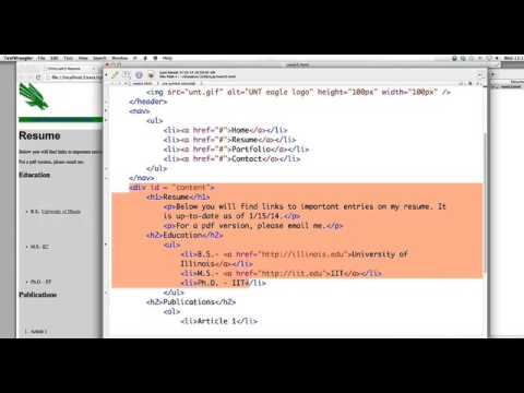 HTML/CSS How to use divs for layout (Simple for beginners) - YouTube