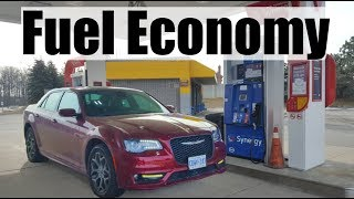 2019 Chrysler 300 - Fuel Economy MPG Review + Fill Up Costs