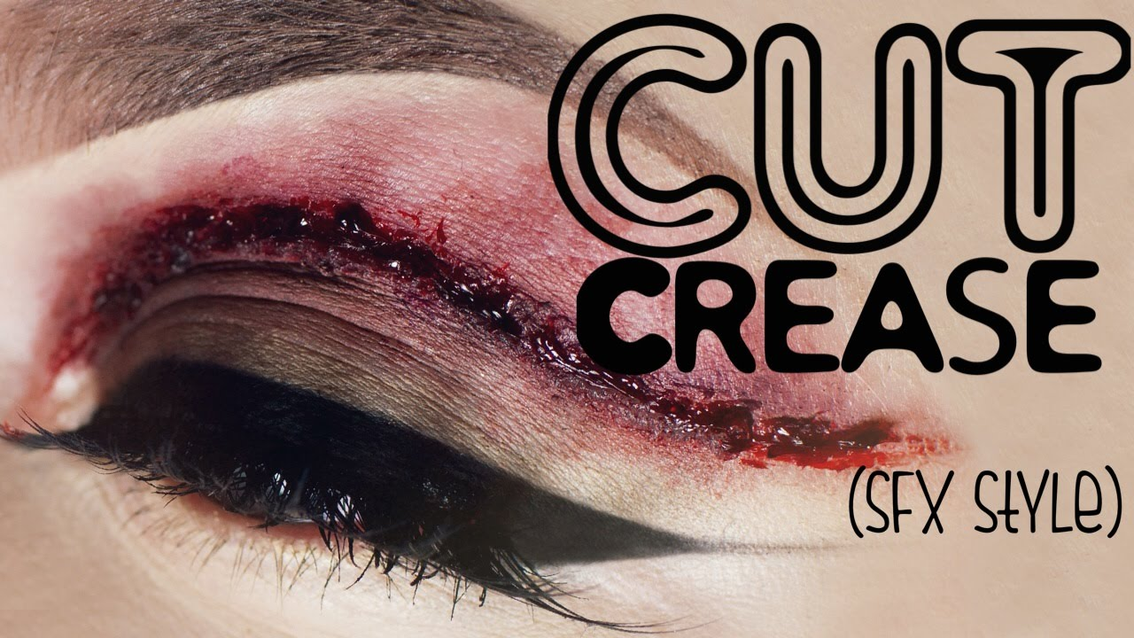 """ Literal "" cut crease Makeup Tutorial - YouTube - photo #42"