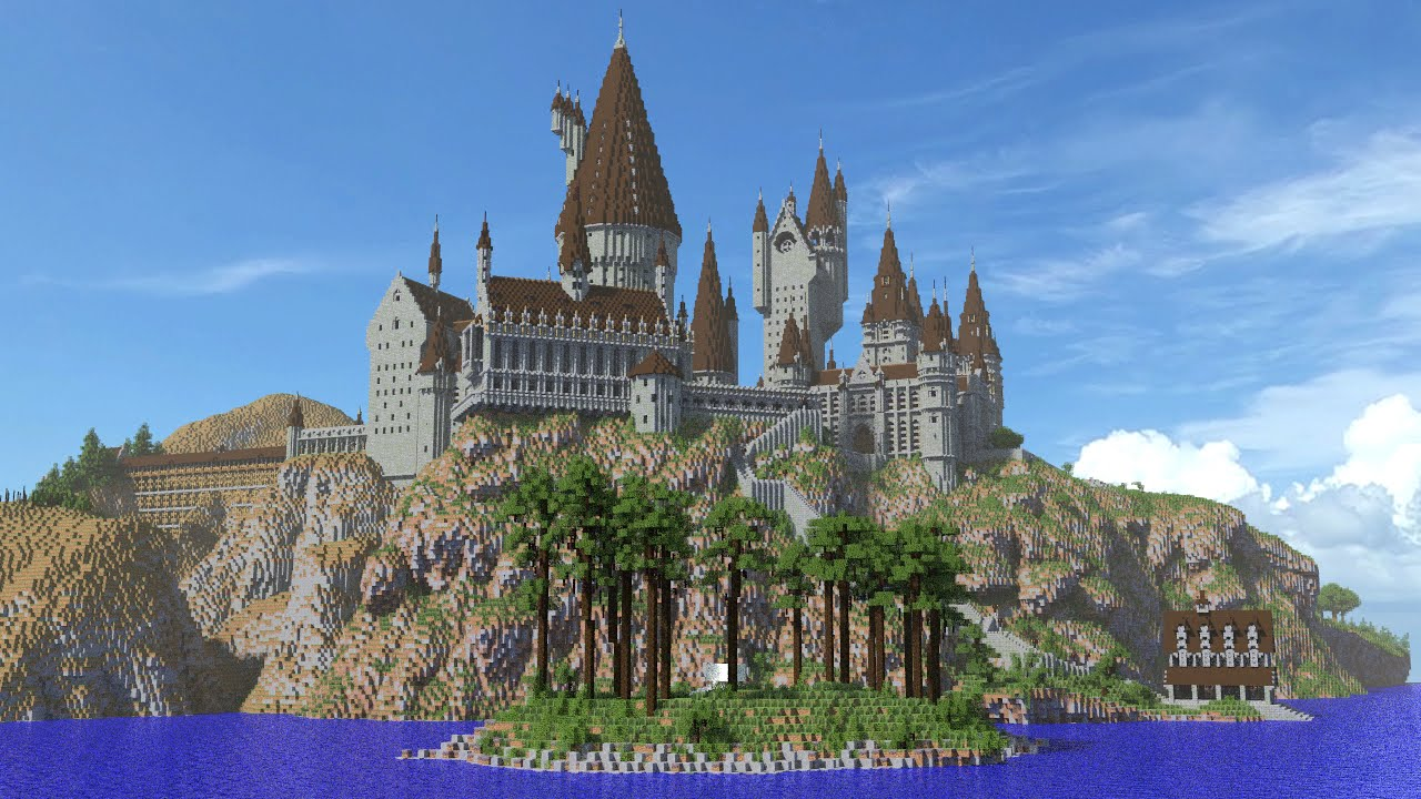 Hogwarts in Minecraft Trailer 2 - YouTube