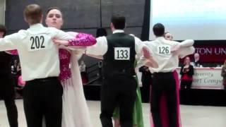 Ballroom Dance Competition Boston University March 1, 2015
