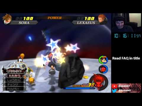 Kingdom Hearts II Final Mix - Randomizer Run (Part 2)