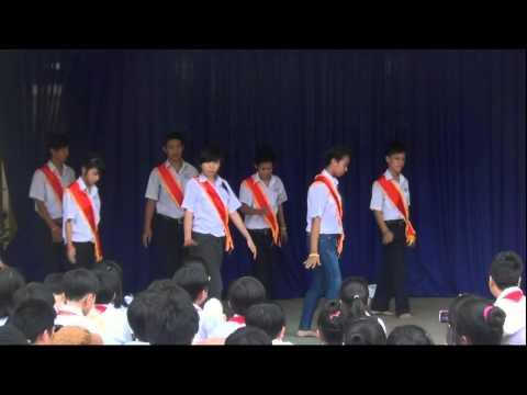 """Dân vũ Doraemon  - 8/2 [Hội thi văn nghệ """"NHẠC KHÚC YÊU THƯƠNG 2012""""]"""