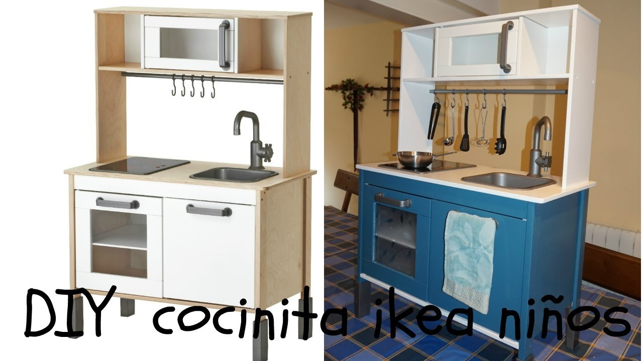 Diy Cocinita Ikea Ninos Youtube