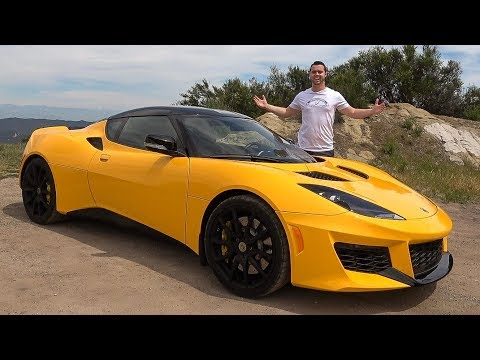 Lotus Evora 400 Review - A Ferrari For $100,000?