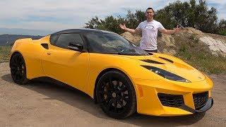 Lotus Evora 400 Review - A Ferrari For $100,000?