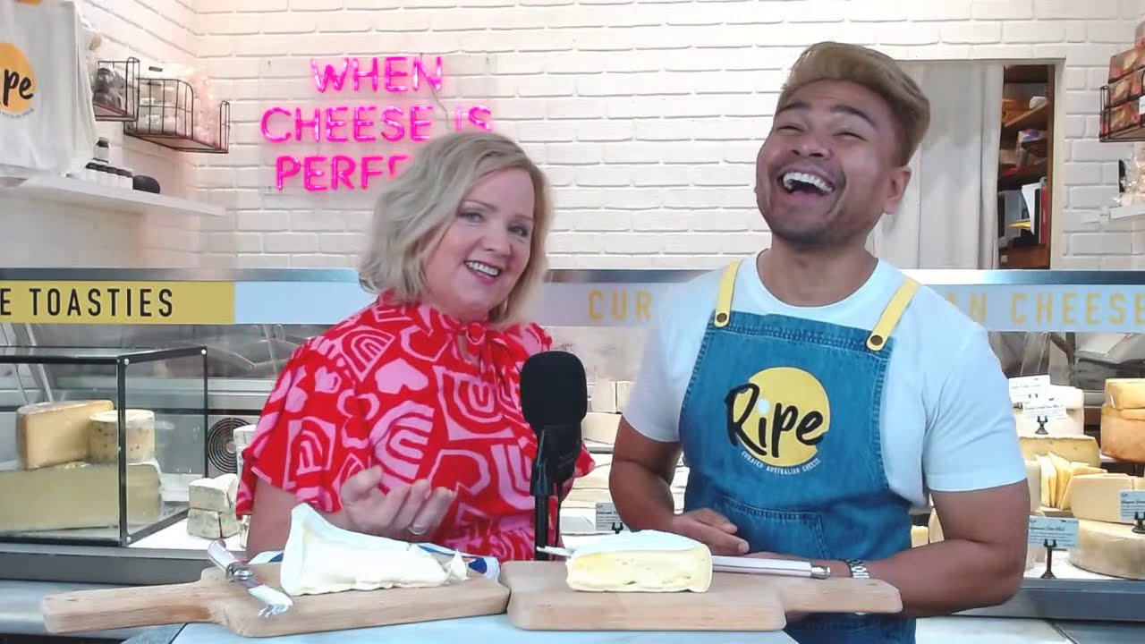 Watch our new online TV show, Cheese Hunters