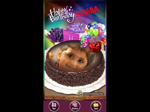 Happy birthday cake with name photos hd