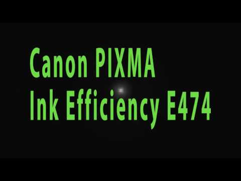 Canon PIXMA Ink Efficiency E474