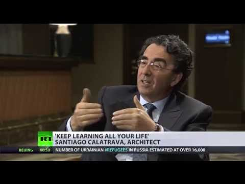 Architect Santiago Calatrava on lifelong learning