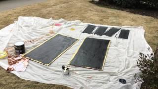 Making A DIY Chalkboard Sandwich Board