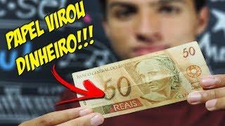 Como FAZER DINHEIRO com MÁGICA!! (TUTORIAL)