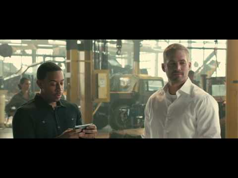 Furious 7 Extended Edition - Roman Explains Plan - Own it on Blu-ray 9/15