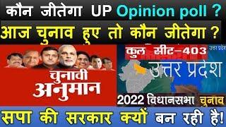 कौन जीतेगा  UP, 2022 Opinion poll ? उत्तर प्रदेश चुनावी विश्लेषण ? सपा की सरकार क्यों बन रही है!