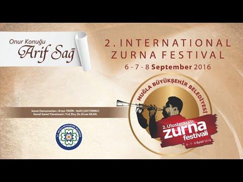 Muğla Büyükşehir Belediyesi 2. Uluslararası Zurna Festivali (Elenore Fourniau - Fransa) 2016