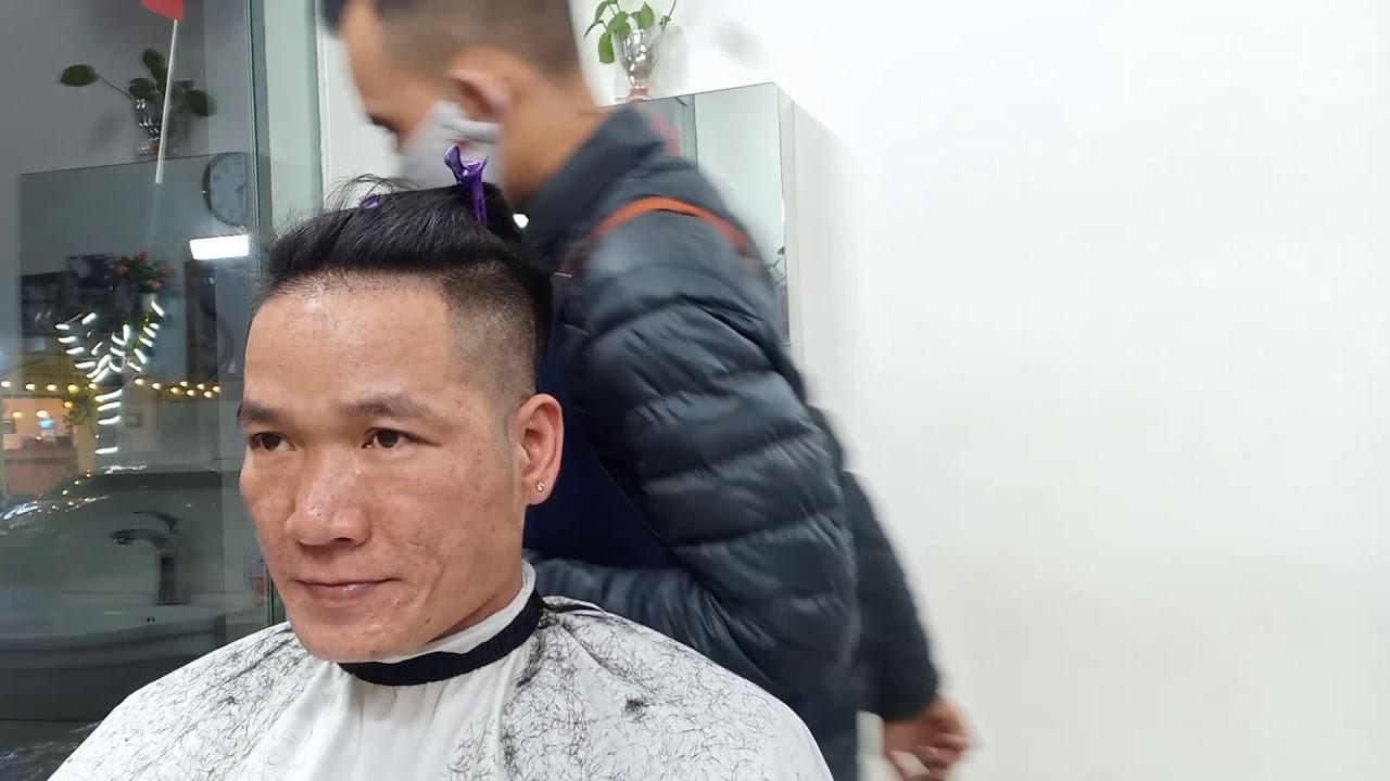 Thay đổi kiểu tóc vuốt ngược thành undecut | Bao quát các tài liệu liên quan kiểu tóc nam vuốt ngược ra sau mới cập nhật