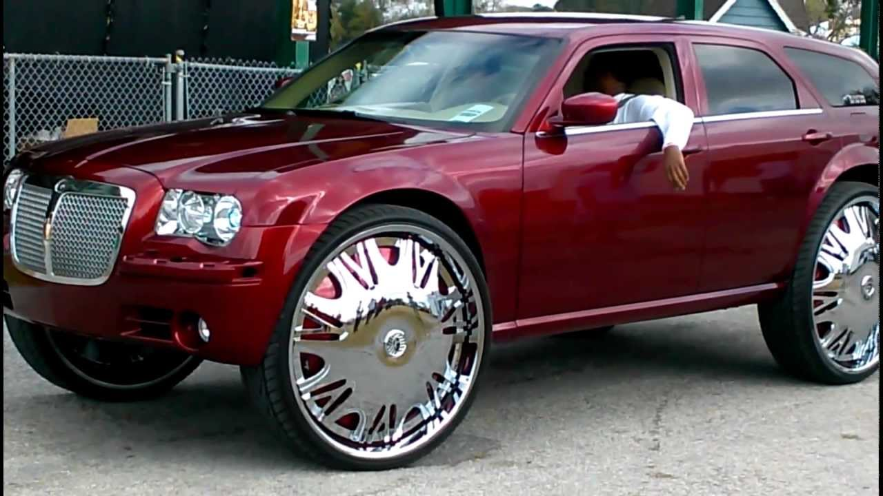 Dodge Challenger 24 Inch Rims >> Magnum on 32s and Camero on 32s - YouTube