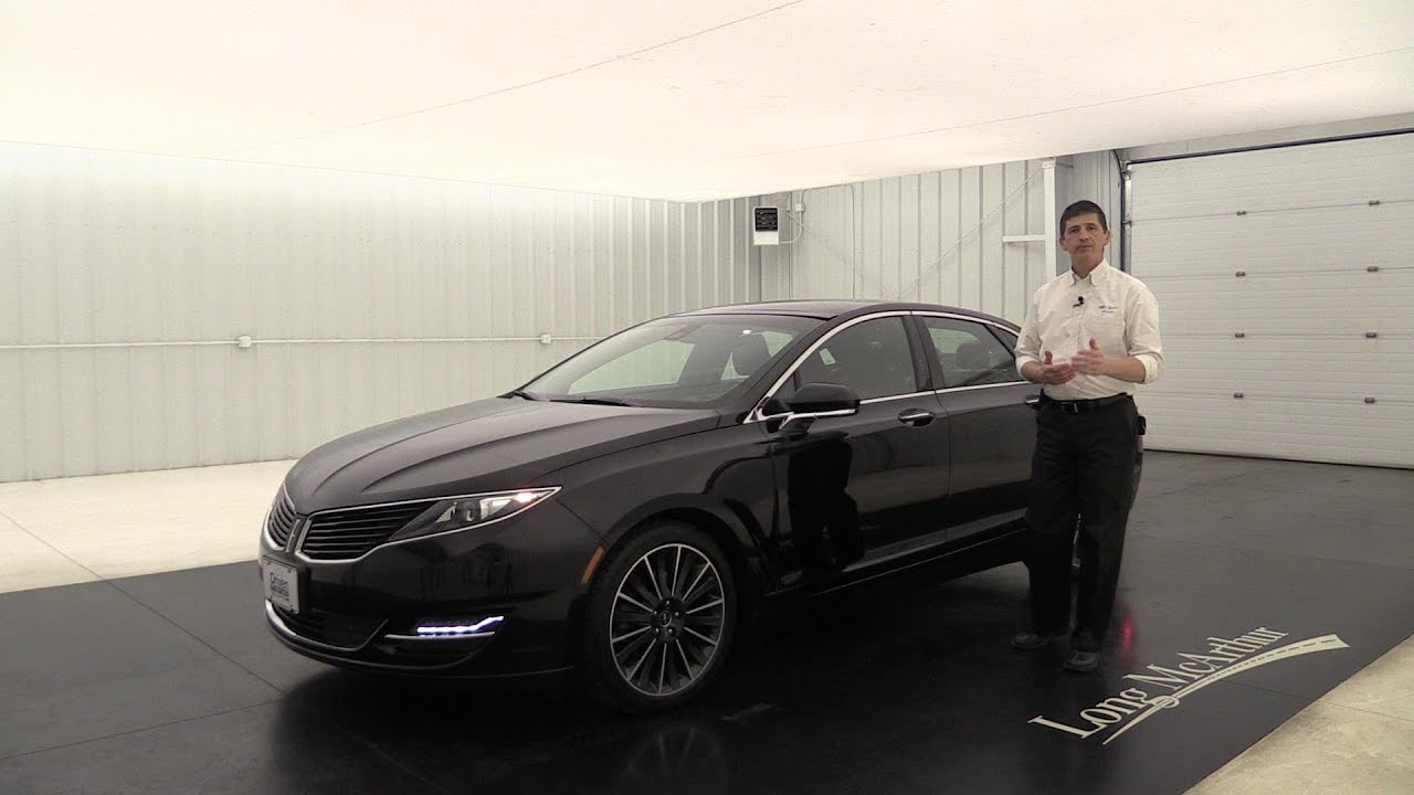 2016 Lincoln Black Label Mkz Center Stage Au4827