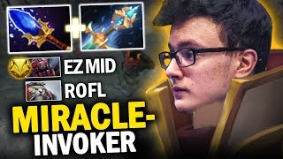 MIRACLE- INVOKER vs COUNTERPICK BROODMOTHER | EPIC GAMEPLAY!!! DOTA 2 INVOKER 7.20D