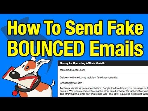 How to Bounce Back Emails