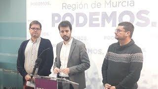 Podemos Región de Murcia sobre la
