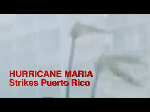 SSL 208 ~ First Images from HURRICANE MARIA as it Strikes CARIBBEAN