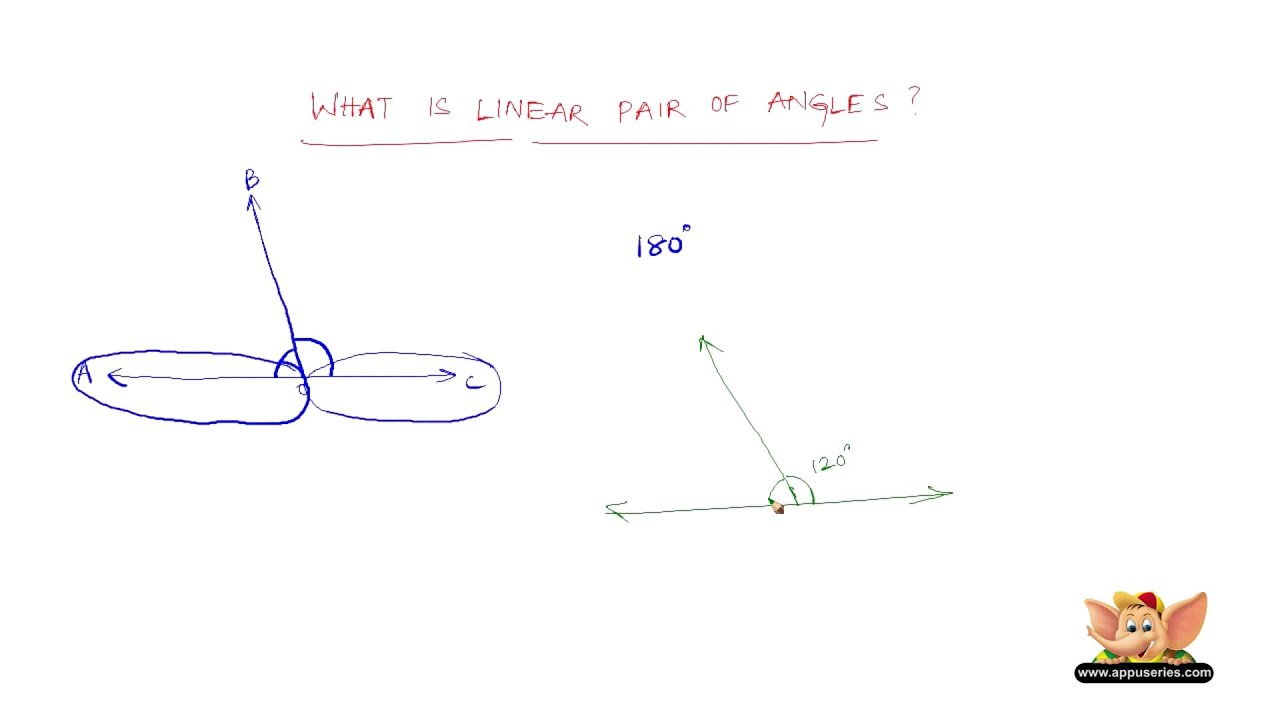 What Are Linear Pair Of Angles
