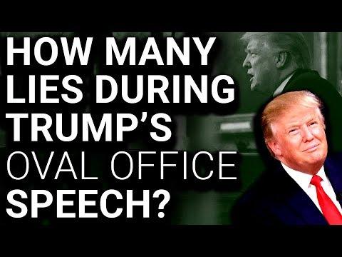 Trump Border Wall Sets Record for Lies Per Minute