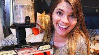 NEW SHARK ION VACUUM REVIEW FLOOR CLEANING MOTIVATION // CLEANING MOM