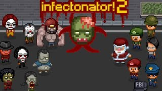Обзор Infectonator 2 Симулятор распространения зомби вируса