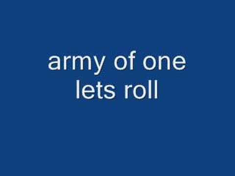army of one - lets roll