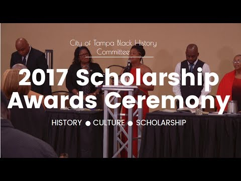 2017 City of Tampa Black History Committee Scholarship Awards