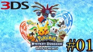 Let's Play : Pokémon Gates to Infinity (3DS) - Parte 1