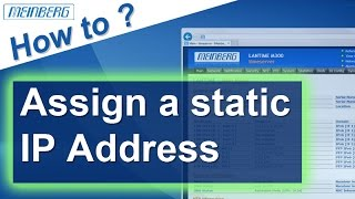 How to assign a static IP Addr…