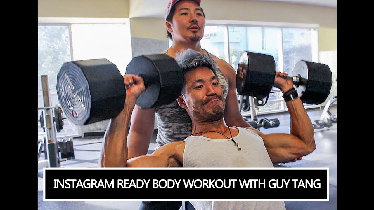 Instagram Ready Body Workout With Guy Tang - YouTube