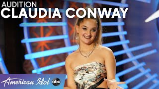 Claudia Conway Sings Adele Song And Shocks The World To Earn A Golden Ticket - American Idol 2021