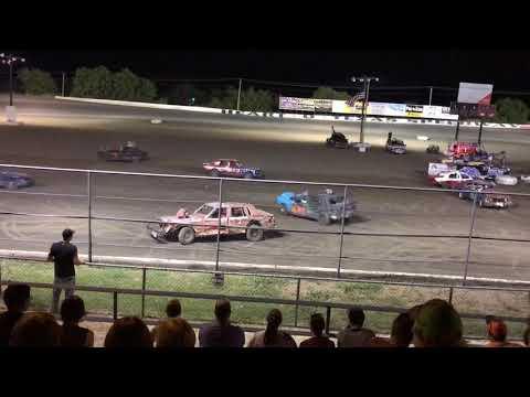 Demolition Derby - Heart O'Texas Speedway, Elm Mott, TX 7/20/2018