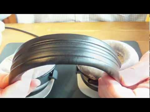 Beyerdynamic DT770 / 880 / 990 Kopfpolsterwechsel ( Changing the Headreast Pad ) Tutorial