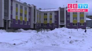 Новый социальный дом на ул Фрунзе 22 в Мурманске
