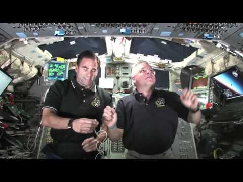 """""""The Two Gregs"""" Quizzed On-Orbit"""