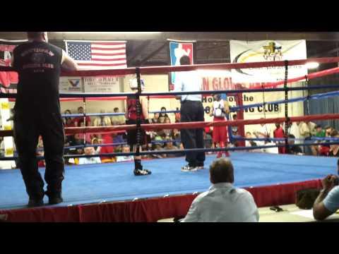 Hunter Jones boxing in Jackson, TN