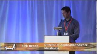 Kirk Beebe of Metabolon on metabolomics at Cell Culture World Congress USA 2013