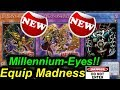 Finally!! New Millennium-Eyes Support!! Equip Madness!! 【LINK SUMMON】