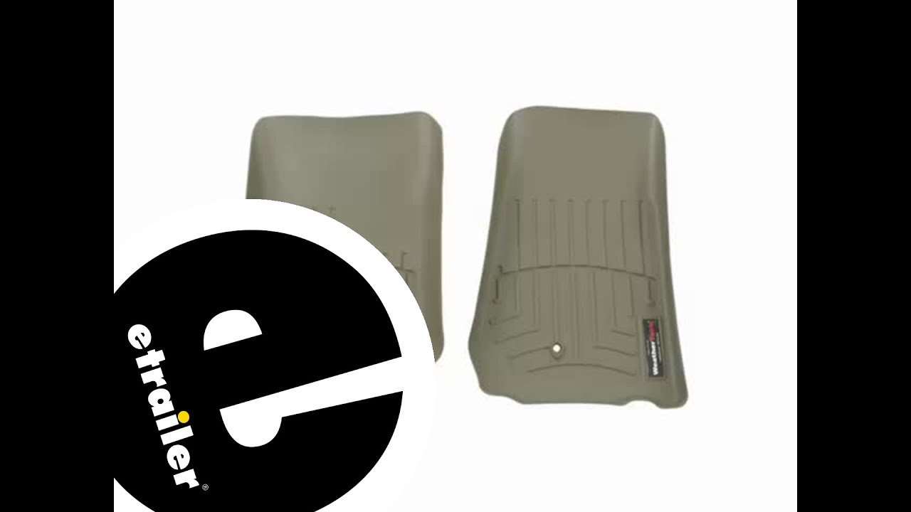 Floor mats jeep liberty 2012 - Review Of A Weathertech Front Floor Liner On A 2012 Jeep Wrangler Etrailer Com Youtube